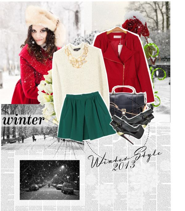 """Winter Style 2013"" by karina-zahra ❤ liked on Polyvore"