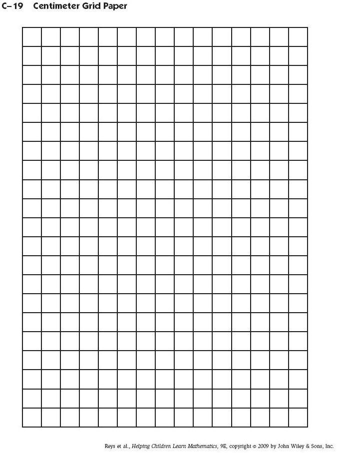 Printable Graph Paper Template Quadrant One 1 Numbered Templates