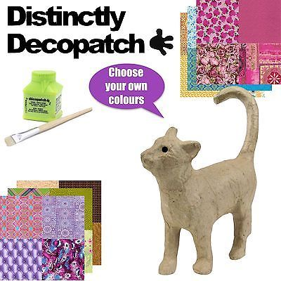 Decopatch #ap583o walking cat #model / kit - decoupage, paper #mache craft,  View more on the LINK: 	http://www.zeppy.io/product/gb/2/232150898609/