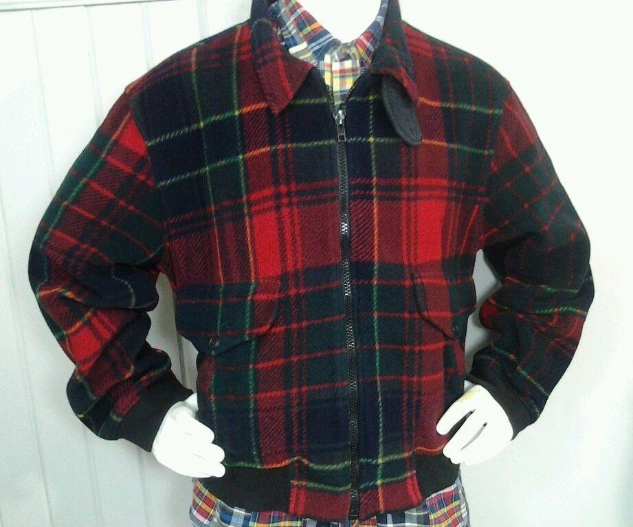 Vintage POLO Ralph Lauren USA Tartan Plaid Polartec Fleece Jacket Mens L in  Clothing, Shoes & Accessories, Men's Clothing, Coats & Jackets