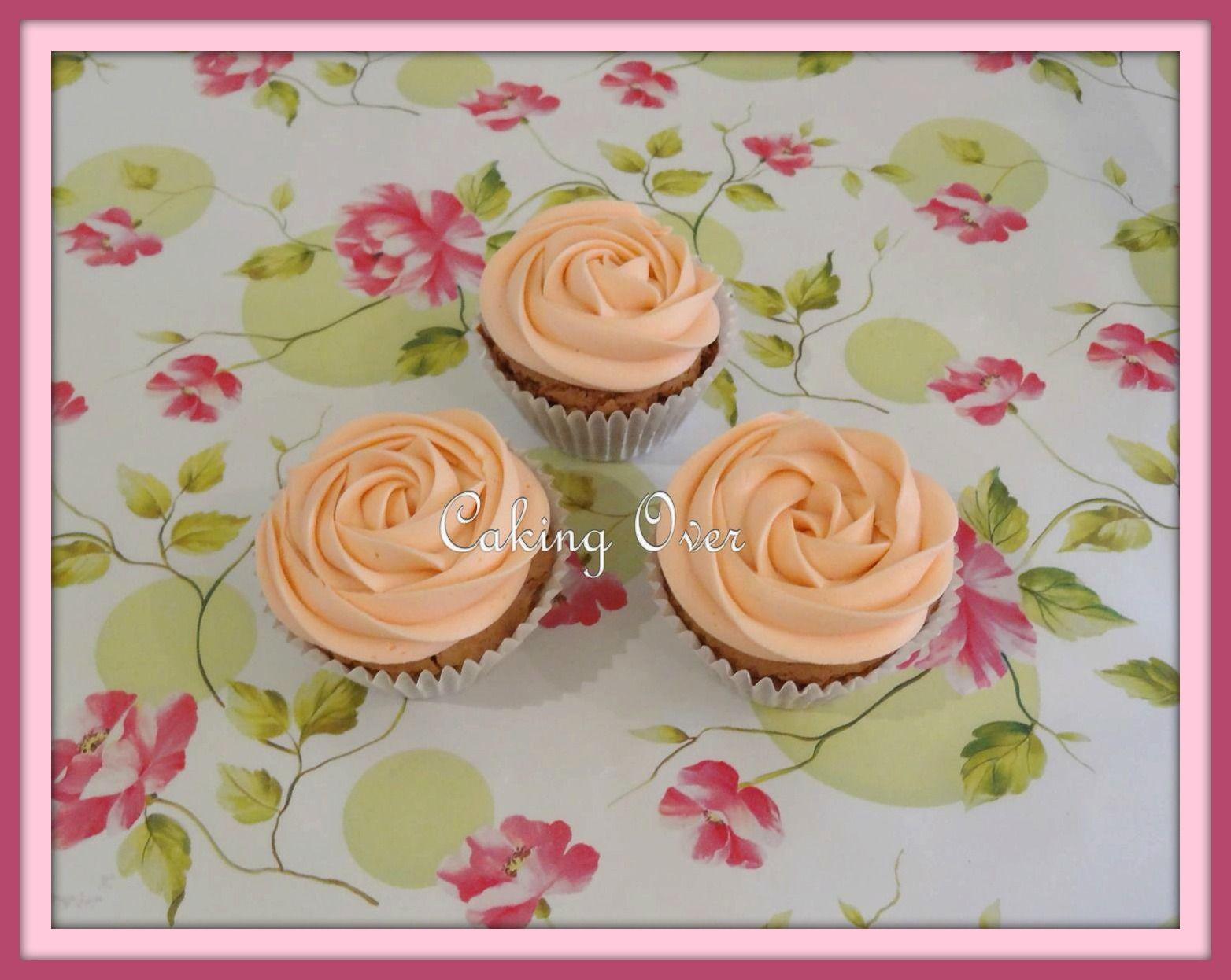 Gluten free chocolate cupcakes with white chocolate