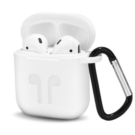 TSV AirPods Case Protective Silicone Cover and Skin with