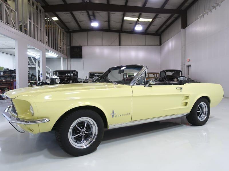 1967 Ford Mustang Convertible For Sale At Daniel Schmitt Co