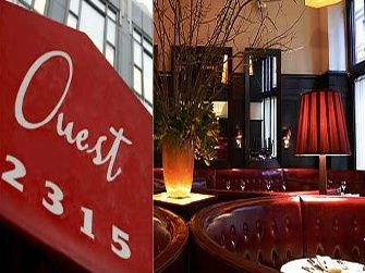 Ouest NYC | Ouest, NYC, NY (Awesome Dishes: Truffled Egg Souflee, Pork Belly ...