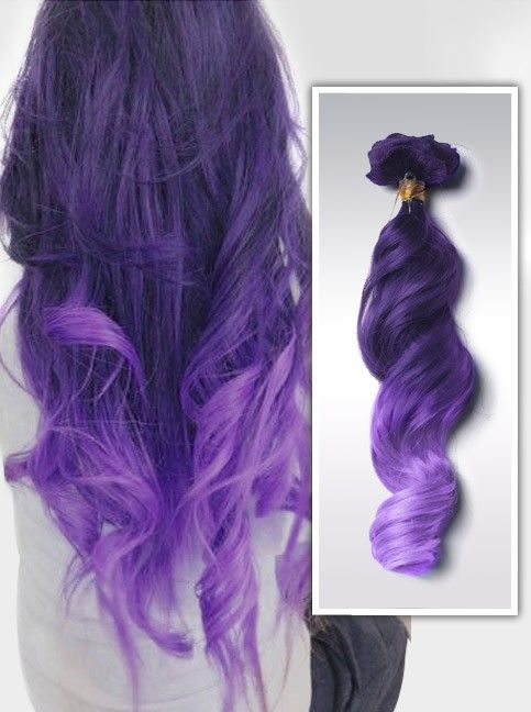 Purple and lavender ombre colorful indian remy clip in hair purple and lavender ombre colorful indian remy clip in hair extensions cs012 pmusecretfo Images