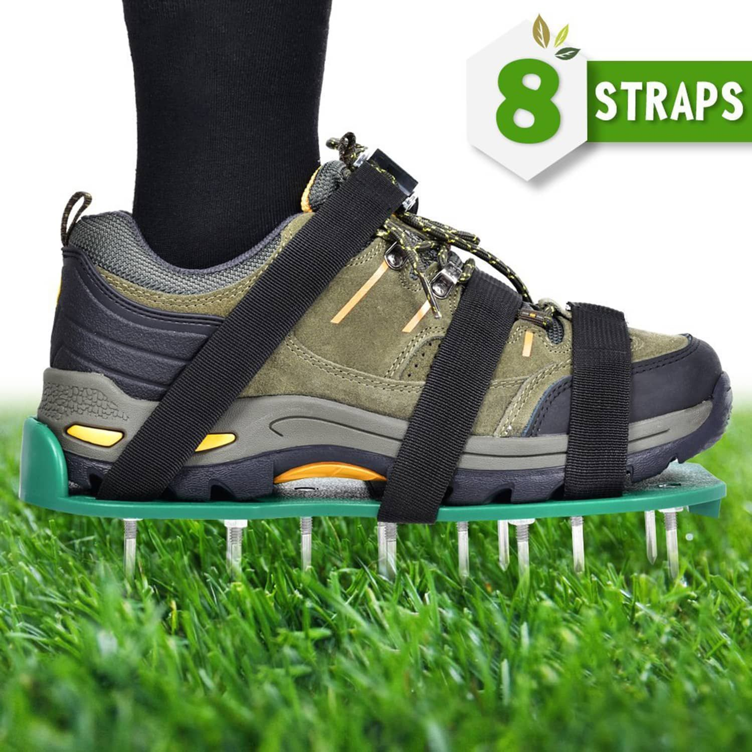 Top 10 Best Lawn Aerator Shoes Reviews In 2020 Best Reviews Guide Aerate Lawn Spike Shoes Aerator