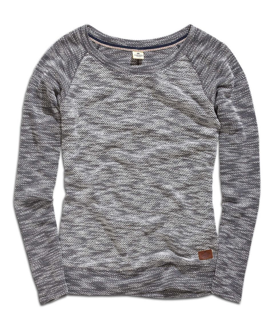 Another great find on #zulily! Gray Mélange Raglan Sweater by TIMEOUT #zulilyfinds