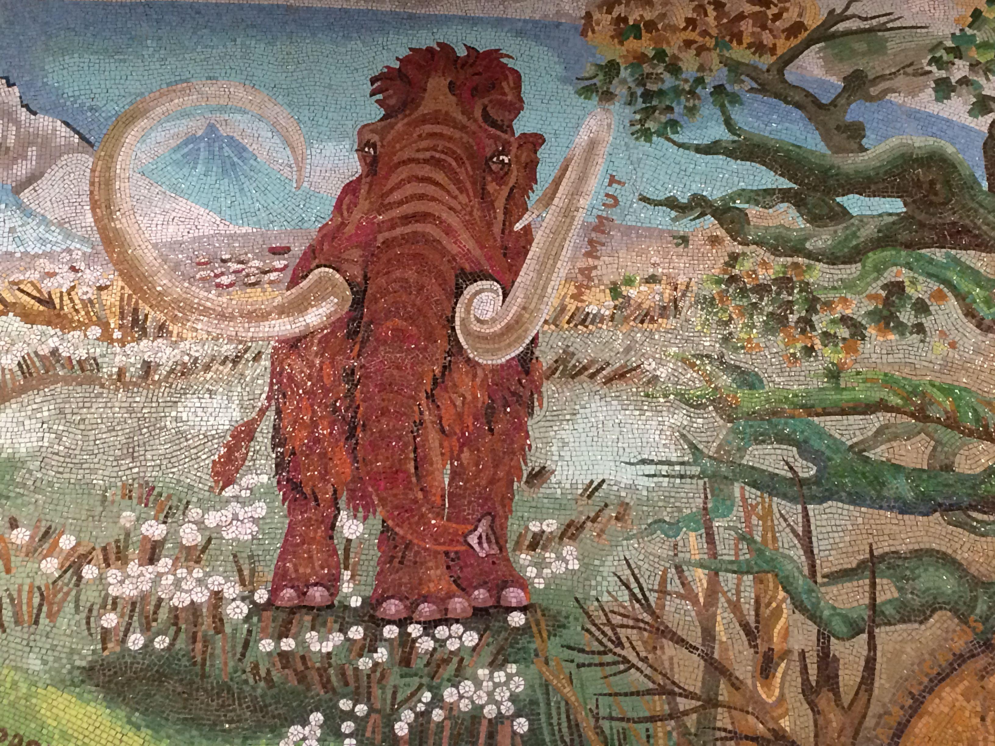 Mosaik Berlin mosaik im tierpark friedrichsfelde berlin teil eines großen