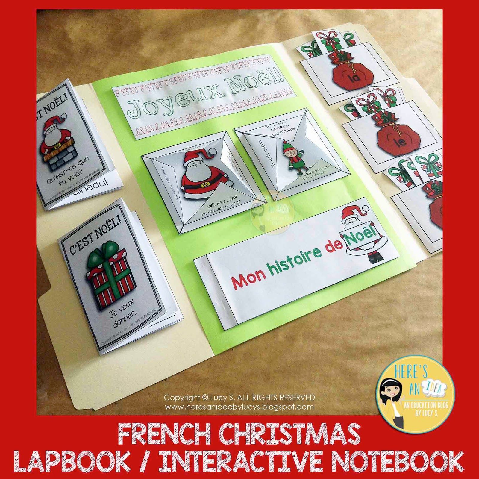 French Interactive Christmas Activities A Selection Of