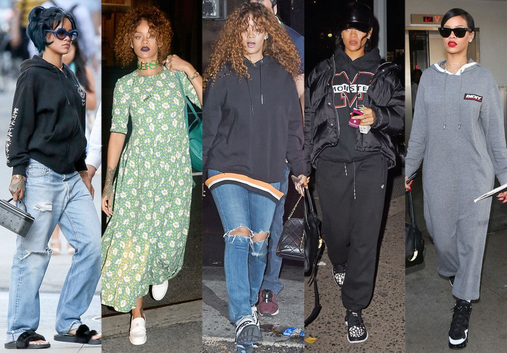 "See All the Looks From Rihanna's Self-Described Year of ""No Sexy S--t"" Style 