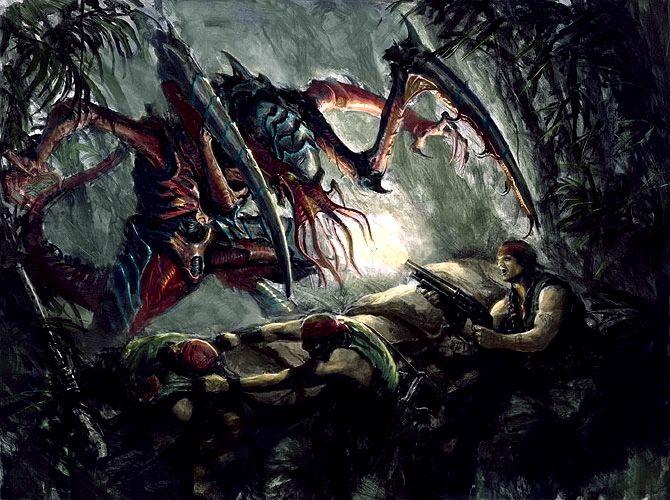 Lictor Ambush Warhammer 40k Tyranids Warhammer 40k Artwork Tyranids