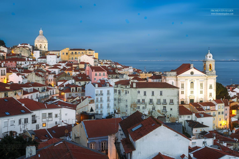 Miradouro de Santa Luzia, Lisboa, Portugal  www.fromentinjulien.com