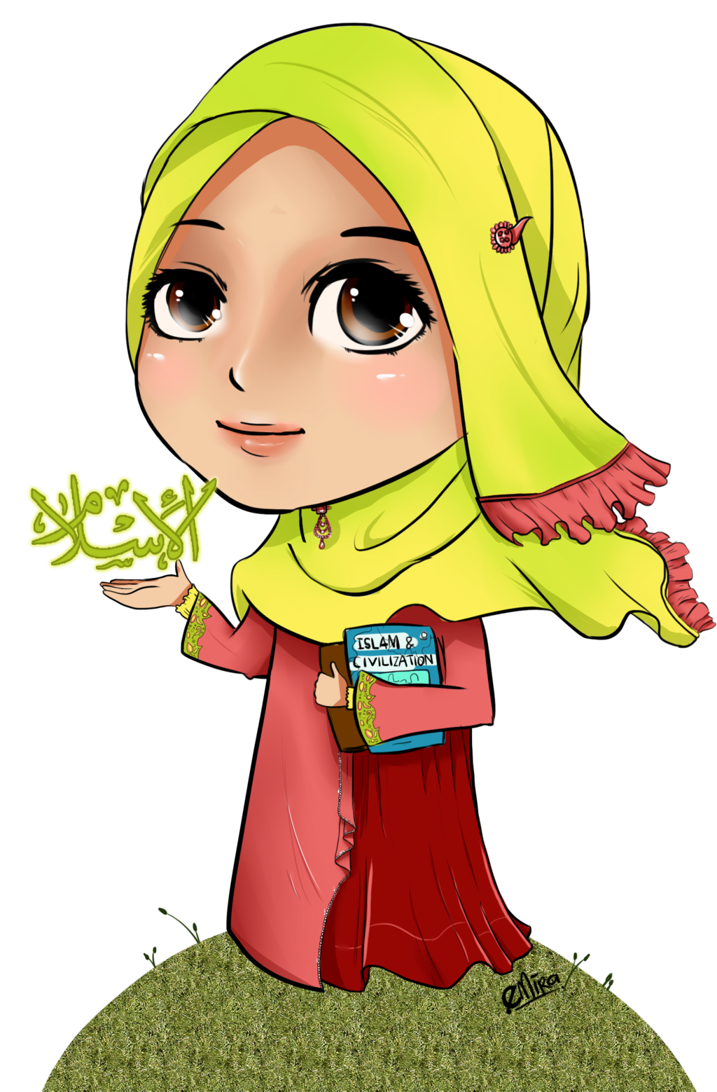 I Choose Islam Chibi By Babyjepuxdeviantartcom On DeviantArt