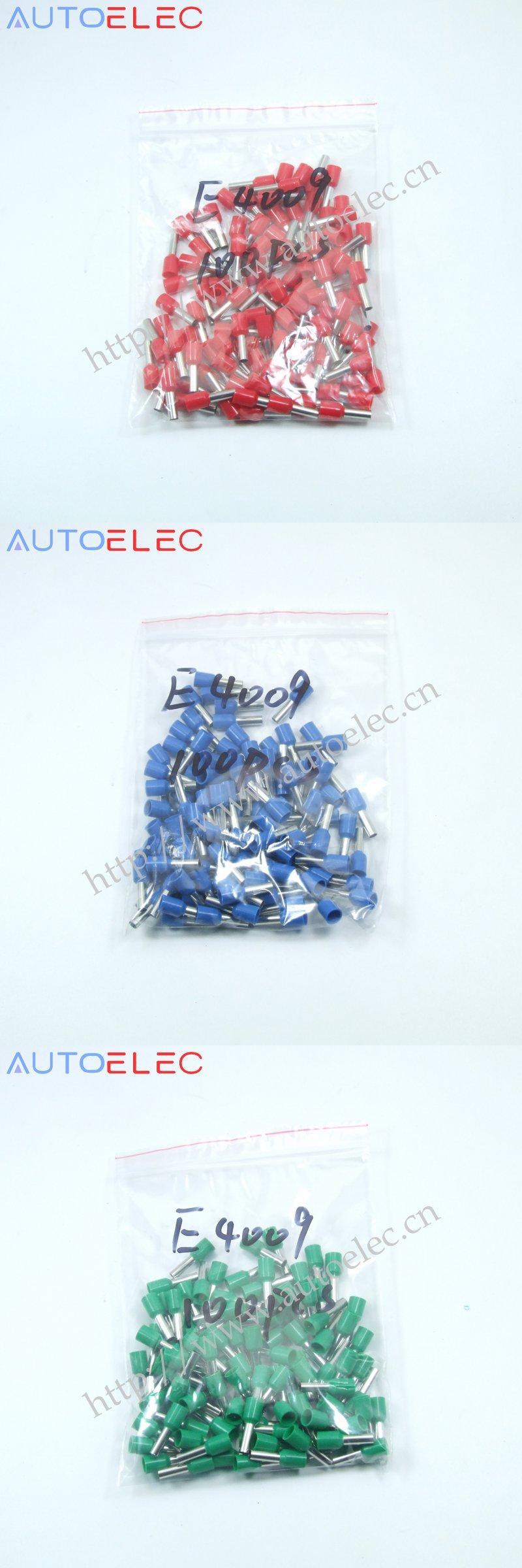 Visit to Buy] E4009 100pcs Ferrule Terminal Cord End Terminal AWG12 ...