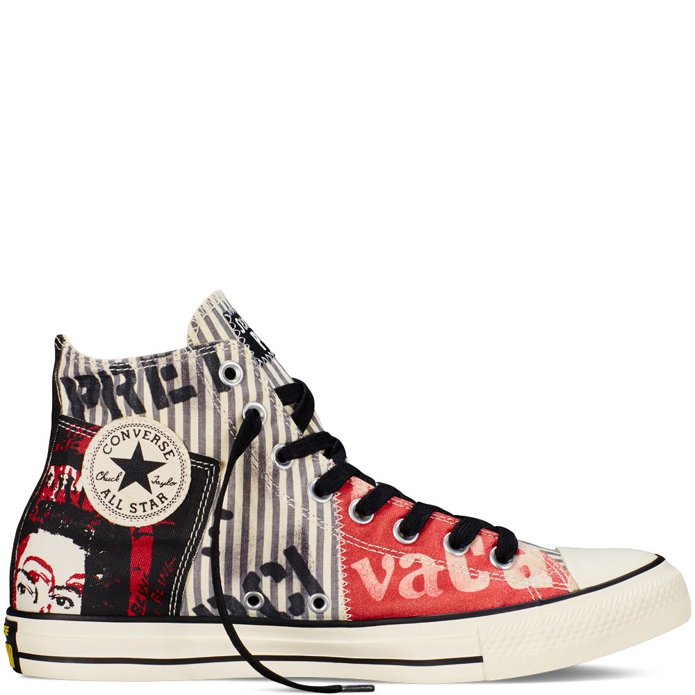 Converse - Chuck Taylor All Star Sex Pistols - White - Hi Top