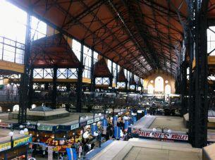 Having fun in the #Budapest, #Hungary Central Market. Favorite Things to Do in Budapest | Liberacorpus #travel #travelblog #centraleurope #traveler #wanderlust