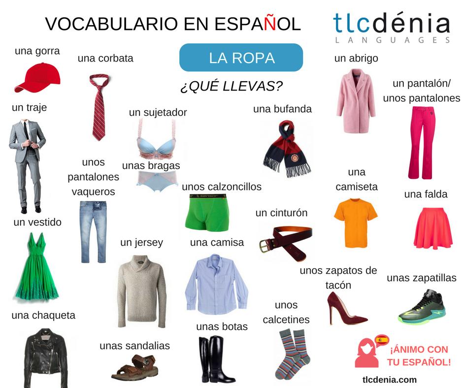 En La Escuela Hemos Comenzado Las Clases Aprende La Ropa En Español
