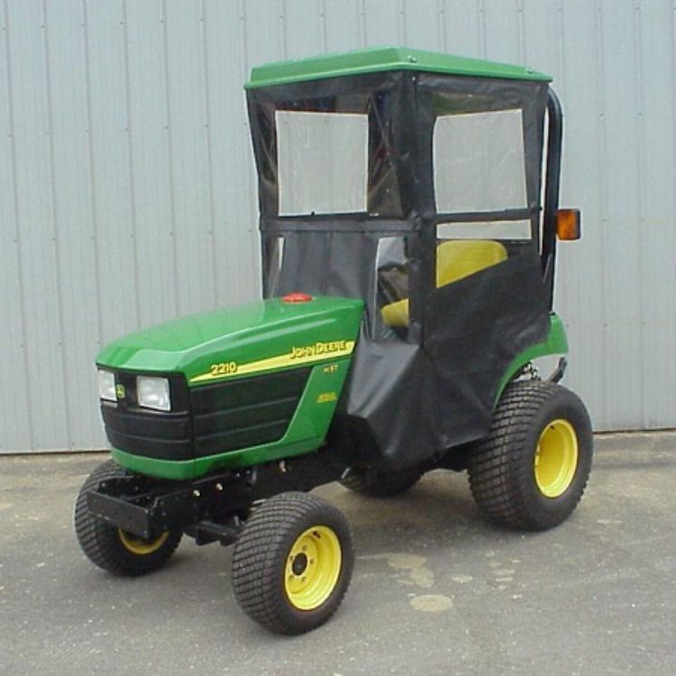 John Deere Lawn Tractor Enclosures : Click to purchase hard top cab enclosure for john deere