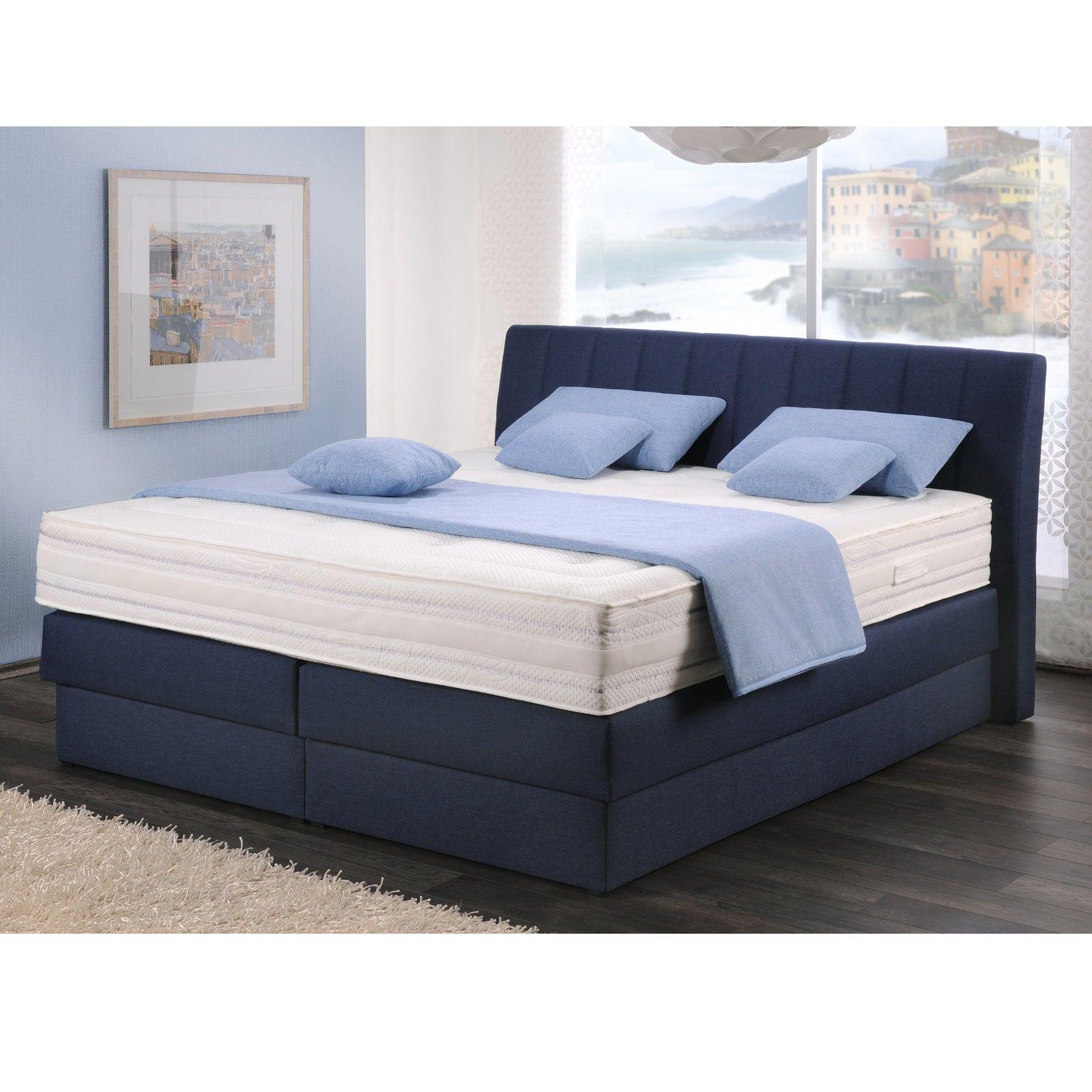Pin Von Mobel Roller Auf Schlafen Betten Bett Boxspringbett Blau