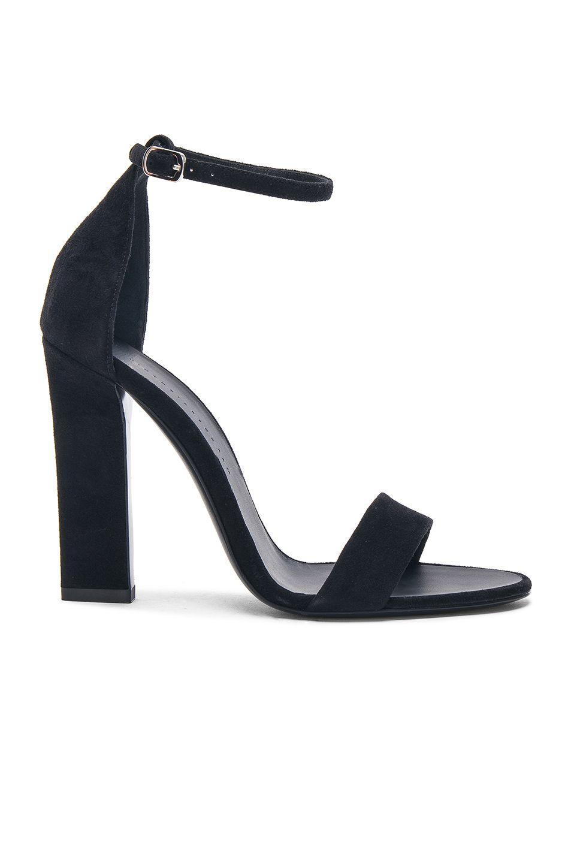 Victoria Beckham Suede Anna Ankle Strap Sandals in . RkqcB8R