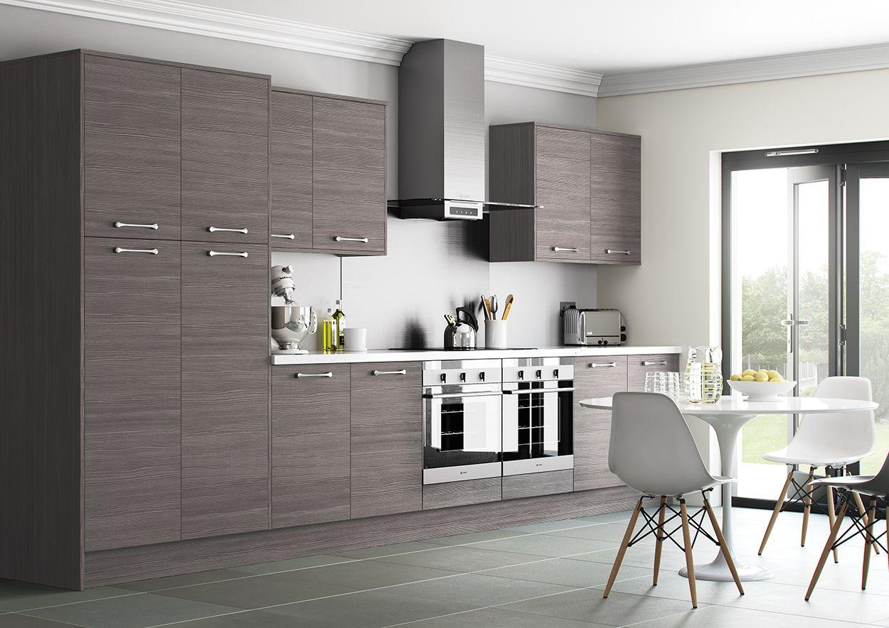 Best Woodgrain Grey Brown Avola Kitchen From Sigma 3 Trade 640 x 480