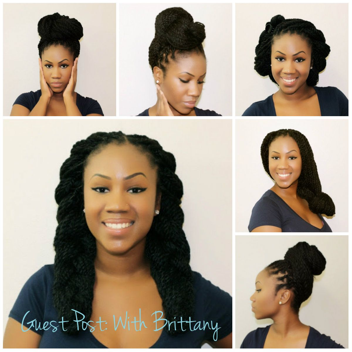 Hair · Different Kinky Twist Styles