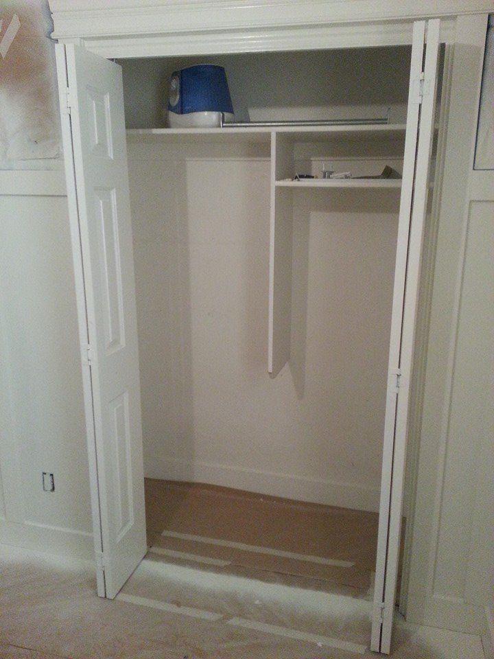 Upgrading And Organizing Builder Grade Closets Builder Grade Girl Room Inspiration Storage