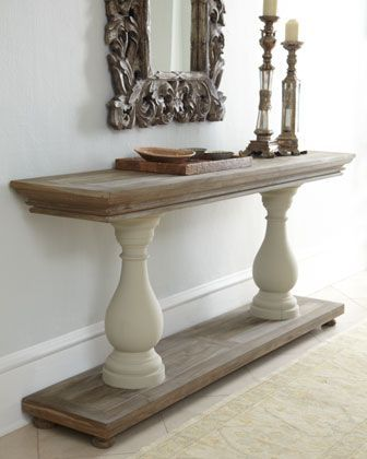 Easily Make This With 2 Boards And 2 Columns Pin 4 Reno Decor Home Decor Diy Furniture