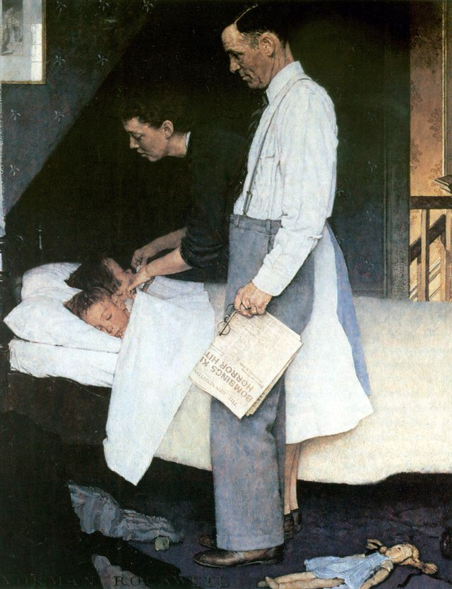 American Chronicles The Art Of Norman Rockwell Avec Images