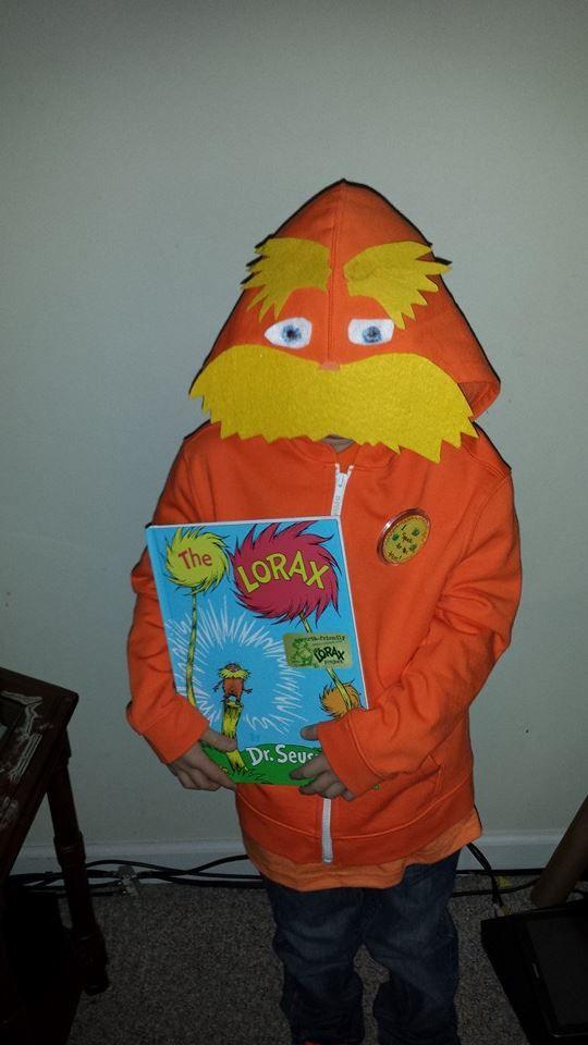 Homemade lorax halloween costume diy do it yourself dr seuss day homemade lorax halloween costume diy do it yourself dr seuss day at school do solutioingenieria Gallery
