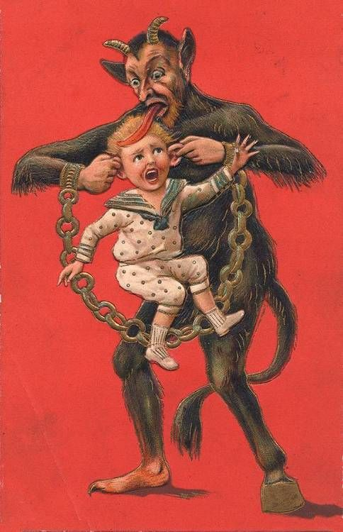 Krampus- Homage to my Austrian ancestry Halloween antiques