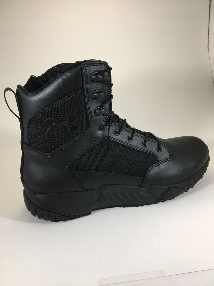 452411fb3ee Under Armour Mens Stellar Side Zip Tactical Boots Black 1303129-001   fashion  clothing  shoes  accessories  mensshoes  boots (ebay link)