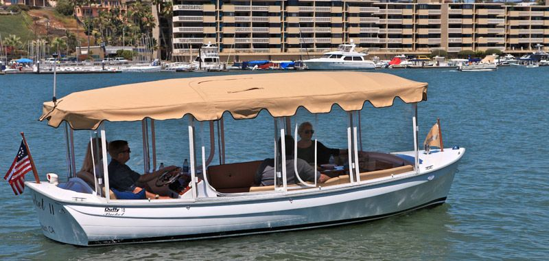 Newport Beach Is A Favorite Destination For Duffy Boat