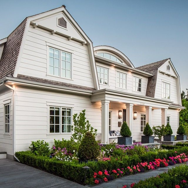 Dutch Colonial Luxury Homes: Finished Dutch Colonial Home #foxgroupconstruction