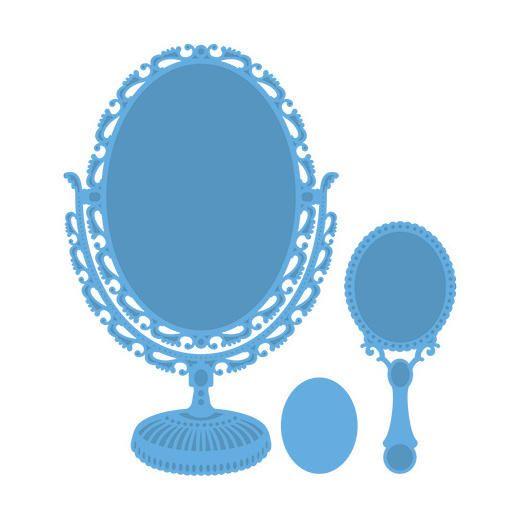 Vintage Mirror LR0321 Marianne Design Creatables Cutting /& Embossing Die