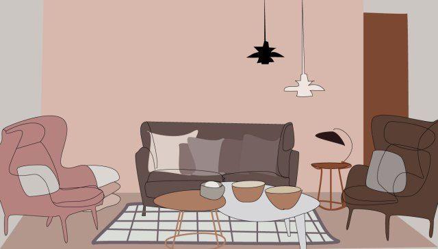 Decor inspiration   Living rooms, Deer illustration and Illustrations
