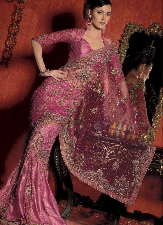 Desi fashion police saree blouse 75