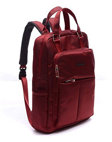 f343a7fb5f Dubyao Unisex 17-inch Multipurpose Water Resistant Laptop Bag macbook Air  Backpack (Red)