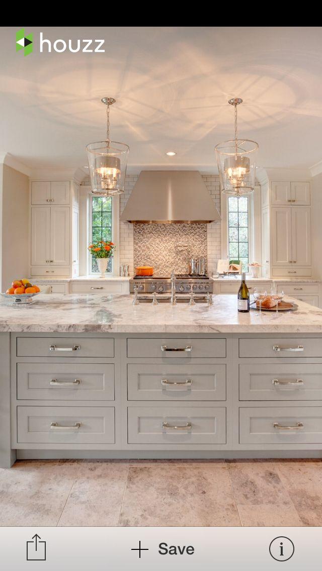 Granite: White pearl silver honed