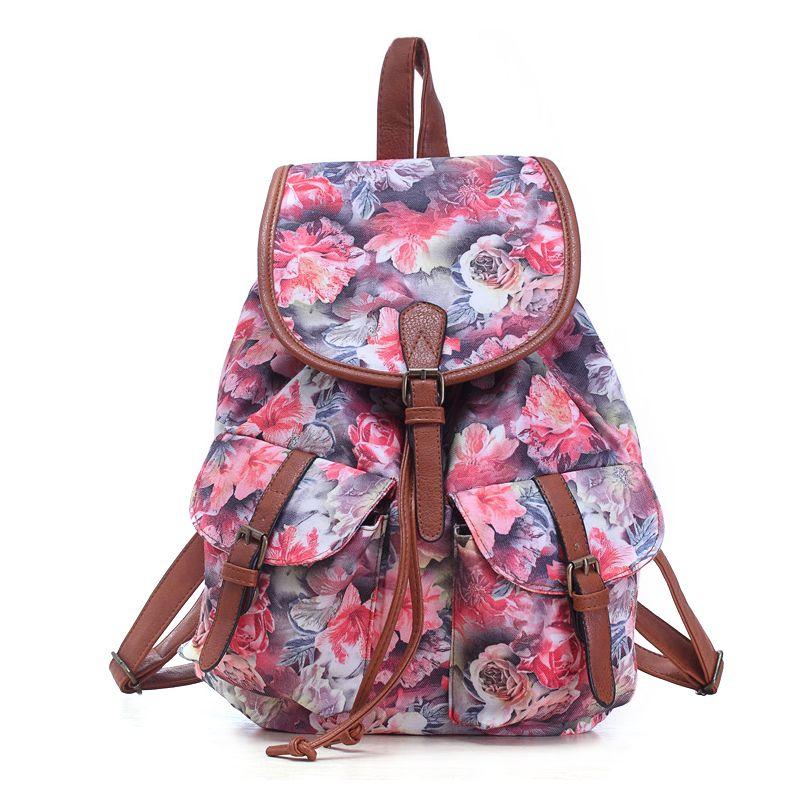 c40edaeda Fancy girls school backpack of walmart audit factory, offset printed ...