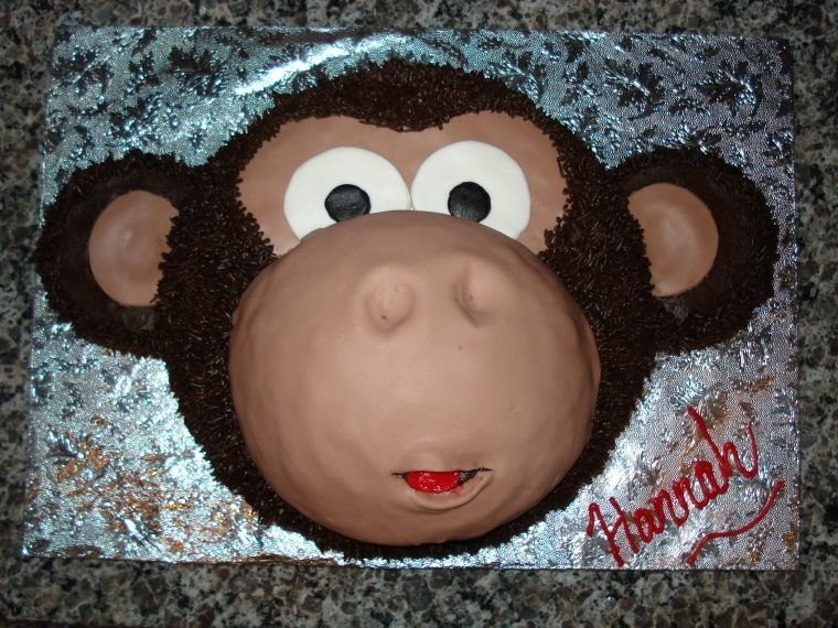 Hannahs Monkey Cake Monkey Cake inspired by several CCers 8