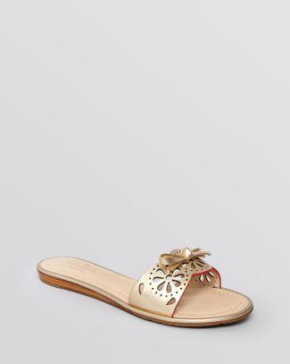 0a119954bfa kate spade new york Flat Slide Sandals - Ajou Bloomingdale's ...