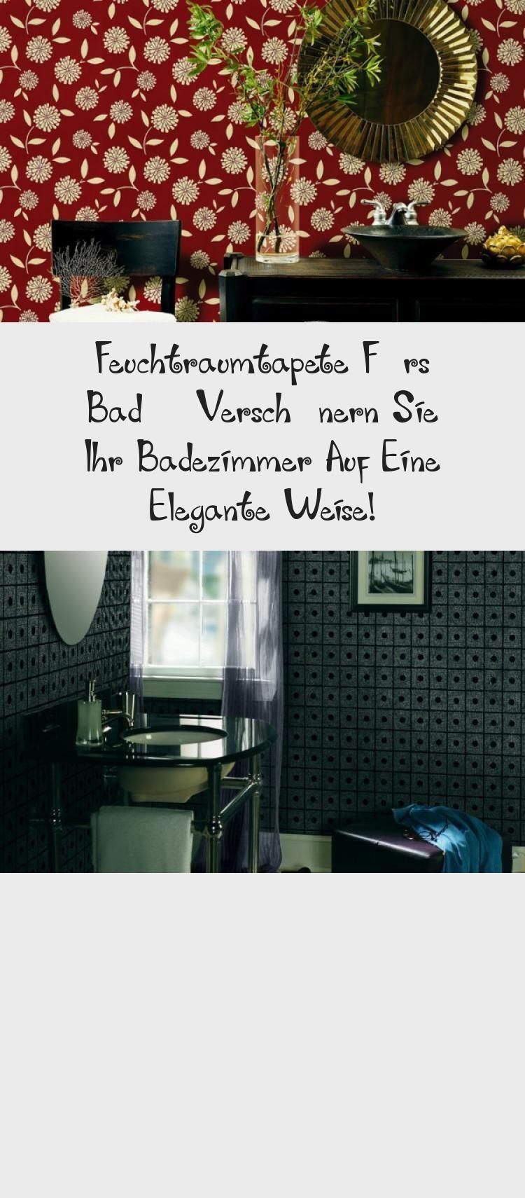 Feuchtraumtapete Furs Bad Verschonern Sie Ihr Badezimmer Auf Eine Elegante Weise Auf Bad Badezimmer Badezimmerdekorationgr 2020