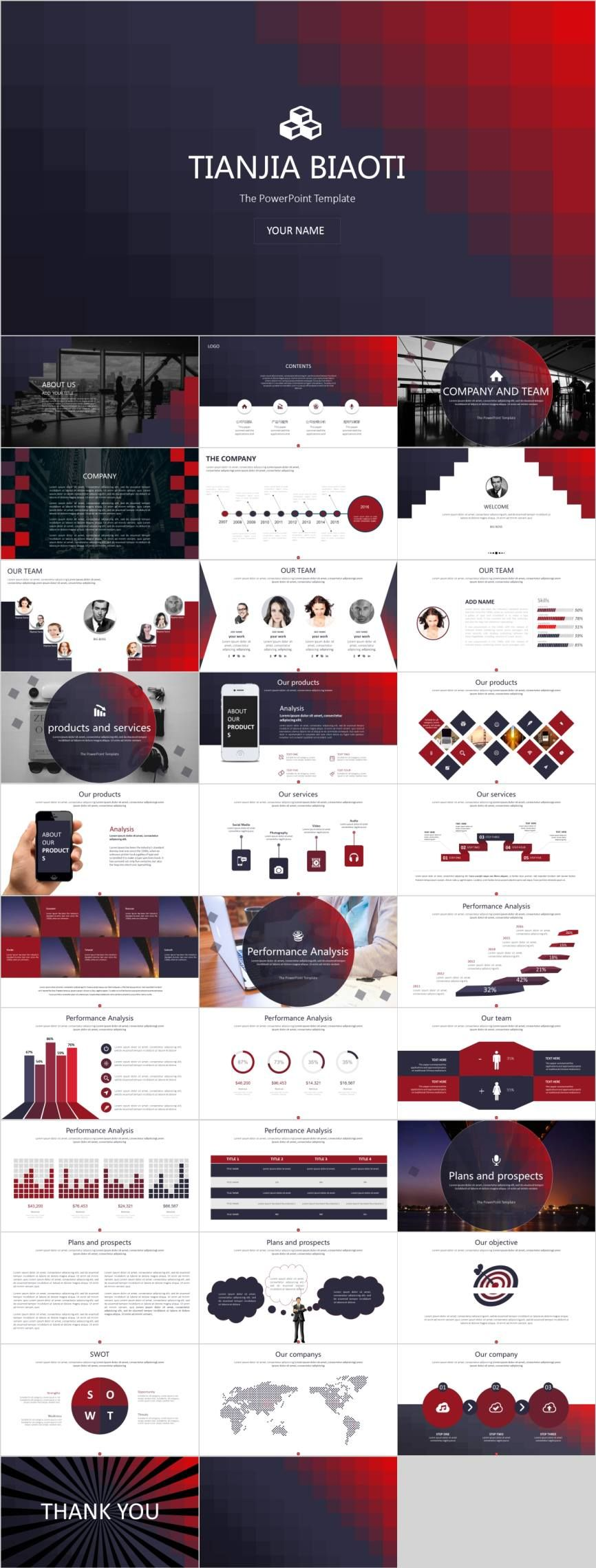 33 Project proposal PowerPoint template