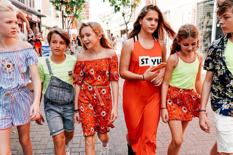 sommerlooks für die girls  sommerkleid kinder kleidung