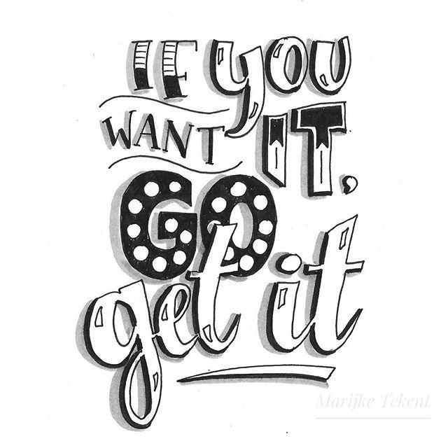 Dag 6  dutchlettering van juni 2018. . . . . . . . . . .  typography  calligraphy  brushcalligraphy  brushlettering  quote  lettering…