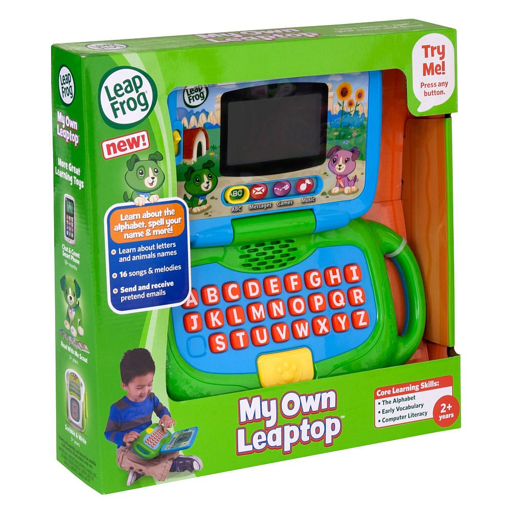 """LeapFrog My Own LeapTop LeapFrog Toys """"R"""" Us (With"""