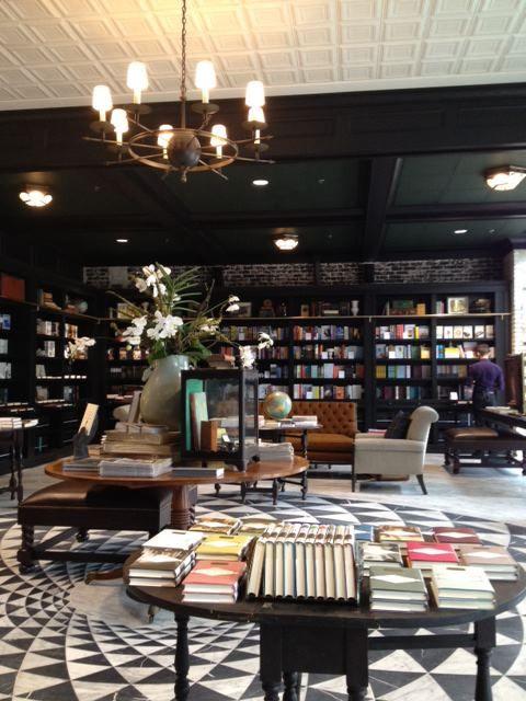 Cocktail Hour In The Bookstore Restaurant Interior Restaurant