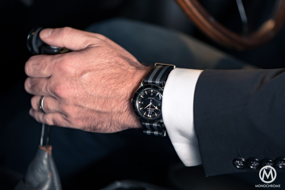 Omega Seamaster 300 SPECTRE 007 James Bond Limited Edition - in the flesh - Monochrome Watches #monochromewatches Omega Seamaster 300 SPECTRE 007 James Bond Limited Edition - in the flesh - Monochrome Watches #monochromewatches