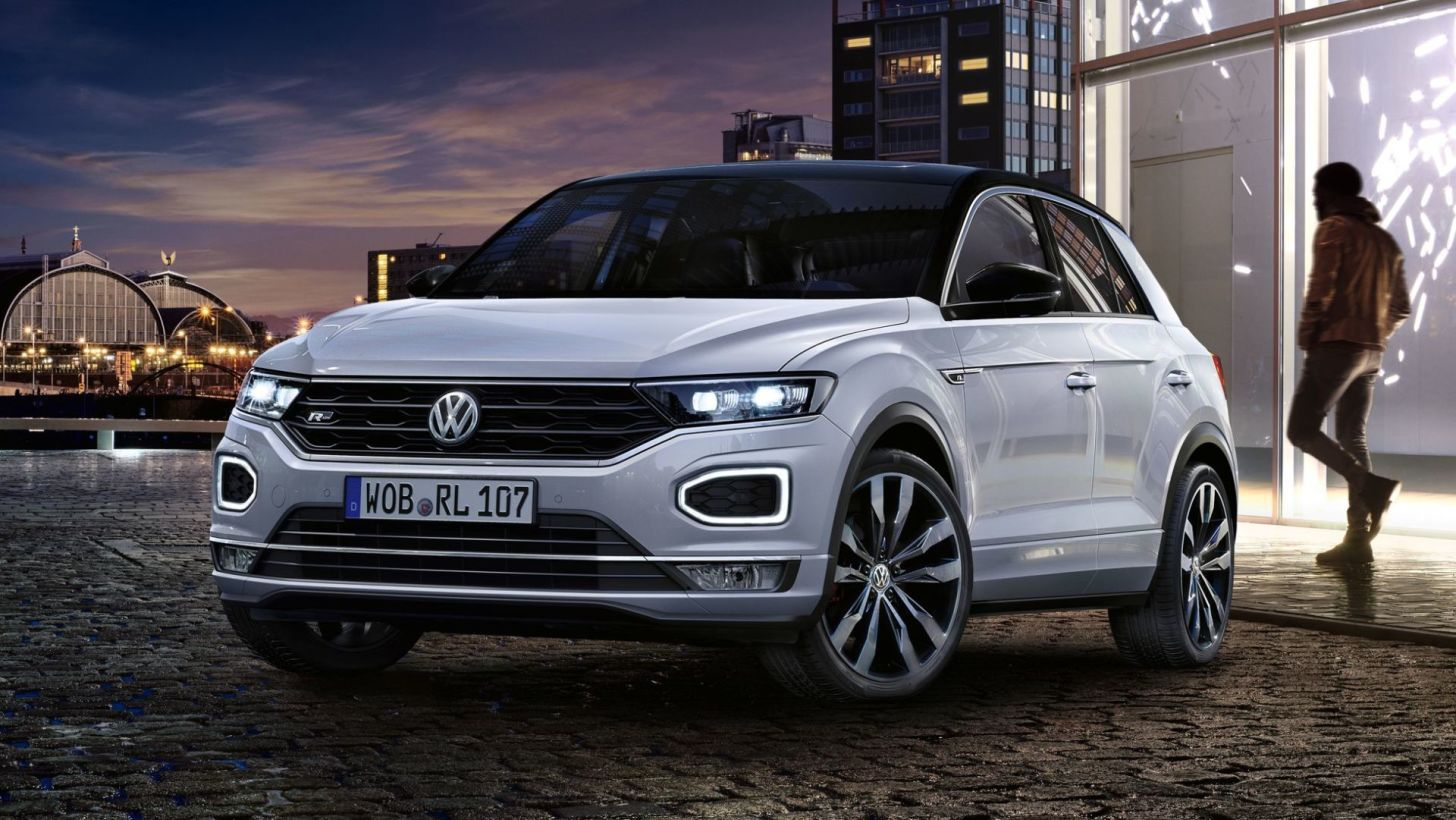 2018 Volkswagen T Roc R Line Suv Volkswagen Auto S En Motoren